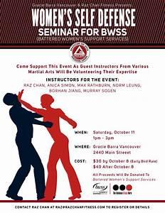Women's Self-Defense Seminar for BWSS | BWSS