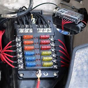 Universal Car Blade Fuse Box Automotive Circuit Fuse Block