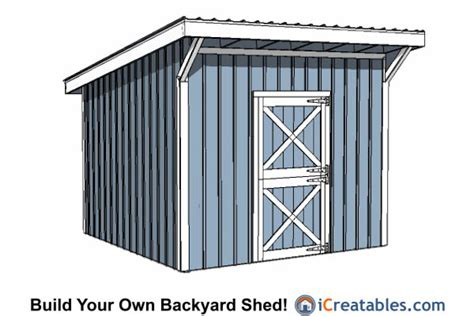 garden shed plans 12x12 12x12 shed plans build your own storage lean to or