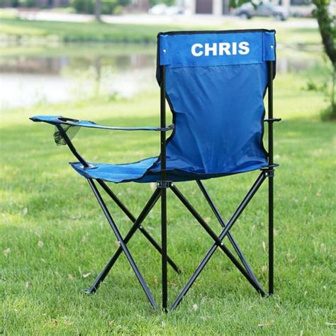 personalized sports folding lawn chair imallshoppe