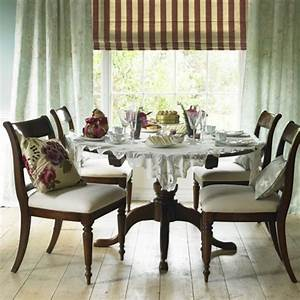 Country style dining room dining room furniture for Country style dining room chairs