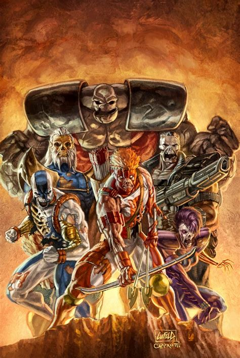 Youngblood Zombies By Capprotti On Deviantart