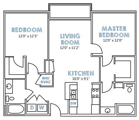 2 Bedroom Floor Plan Layout by 2 Bedroom Floorplans Psoriasisguru