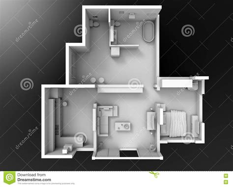 floor plan section stock illustration image