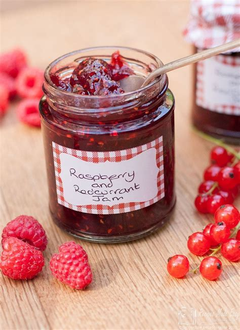 Raspberry and Redcurrant Jam   Recipes Made Easy