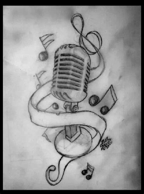 Pin by Mika BiqqBabyy on tattoo ideas | Music drawings