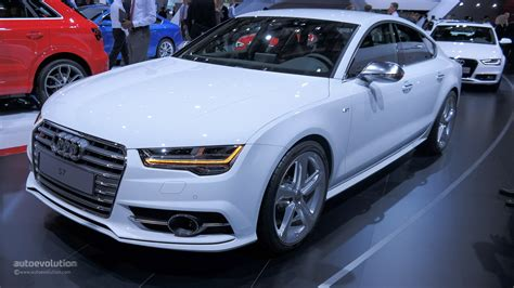 2015 Audi S7 Facelift Bows At Paris For The First Time [live Photos] Autoevolution