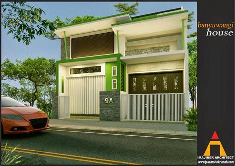 desain rumah bentuk rumah toko