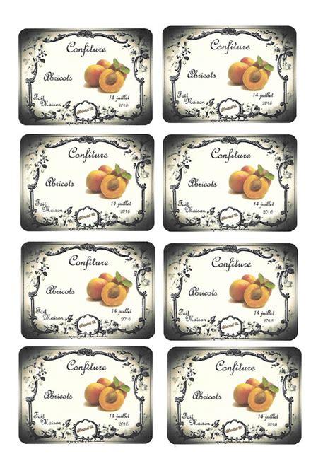 etiquettes pour pots de confiture a imprimer etiquettes pour pots de confiture imprimables et personnalisables digiscrapbooking par atelier