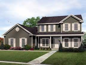 two story country house plans two story traditional home plan design 2289sl 1st floor master suite cad available corner