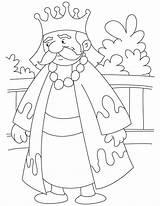 King Coloring Pages Akbar Drawing Midas Burger Josiah Boy Atom Steel Template sketch template