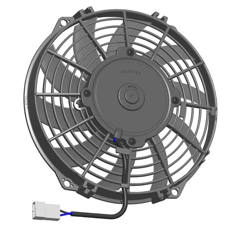 and cold fan spal universal 12v suction radiator fan 350mm 14