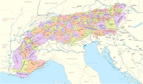 dateikarte der gebirgsgruppen  den alpenpng wikipedia
