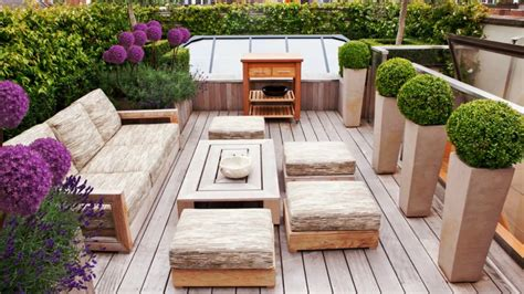 home courtyard amazing roof terrace design ideas