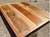 table tops wood Redwood Restaurant style Table Tops Made to Order: Farmhouse