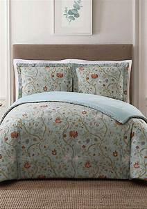 Style, 212, Bedford, Blue, Full, Queen, Xl, Comforter, Set