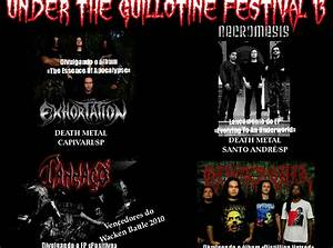 Under The Guillotine Festival 13 Em Piracicaba  Sp