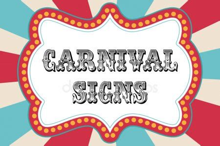 Circus Signs Template by Vintage Circus Stock Vectors Royalty Free Vintage Circus