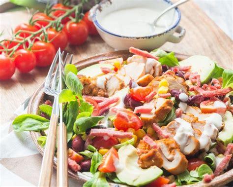 salade mexicaine au poulet recette salade mexicaine