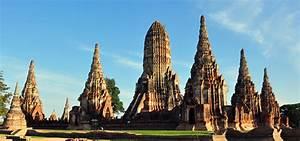 Wat Chaiwatthanaram - Temple In Ayutthaya Historical Park