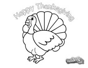 turkey for thanksgiving coloring pages hellokids