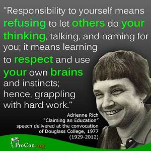 Quotes About Responsibility At Work. QuotesGram