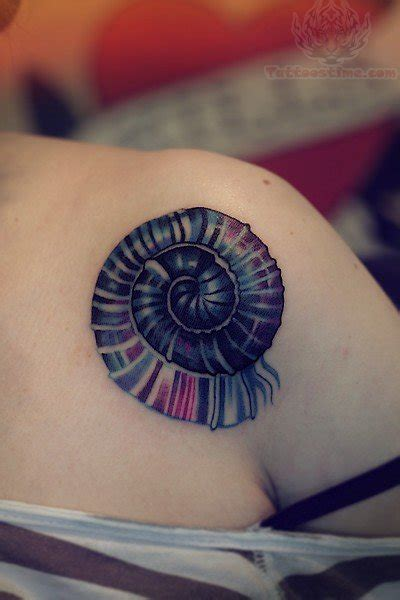 spiral tattoo  collarbone