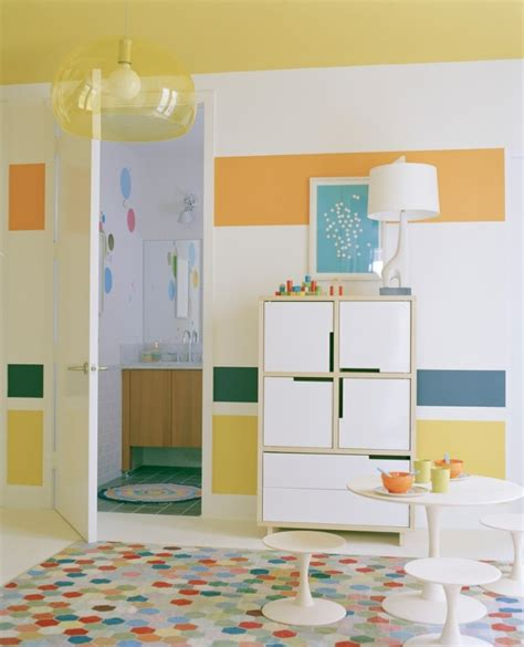 Kinderzimmer Wandgestaltung Ideen by Tipps Zur Kinderzimmer Wandgestaltung Mit Farbe Gelb