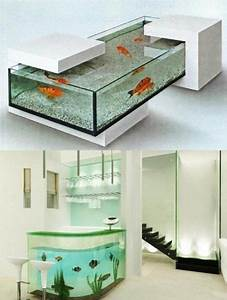 Petit Aquarium Design : 35 unusual aquariums and custom tropical fish tanks for ~ Melissatoandfro.com Idées de Décoration