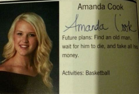 funny quotes    students yearbooks