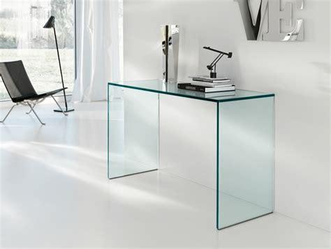 meuble bureau en verre console en verre 50 idées de décoration d 39 intérieur