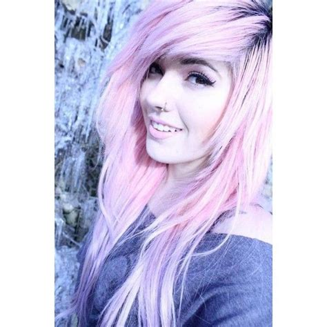 Gallery For Scene Girls With Light Purple Hair Liked On