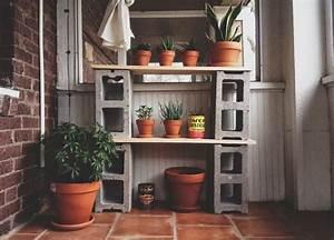 The, Useful, Of, Cinder, Block, Shelves, Ideas