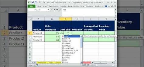 find  weighted average cost  inventory