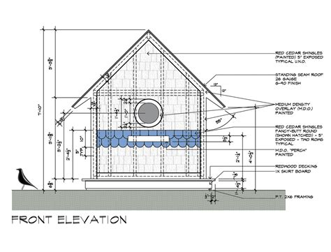 www houseplans birdhouse drawings front elevation design by dallas