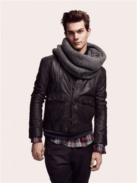 comment porter une echarpe homme 201 charpe trenditude