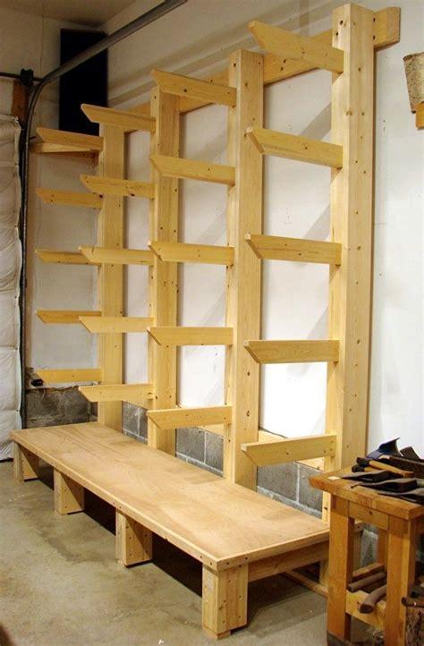 Shop Storage Shelves by Wood Storage Workshop Planned New Shop Wood