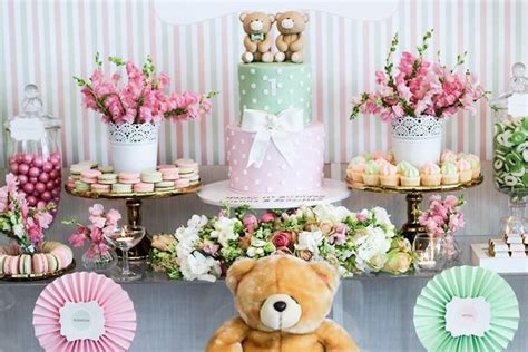karas party ideas teddy bear  friends birthday