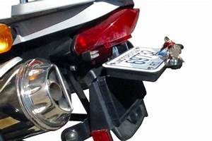 secret stash box mounts behind your license plate adv pulse With motorcycle document storage