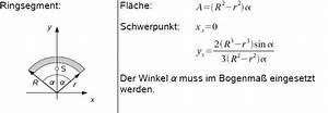 Schwerpunkt Berechnen Tabelle : schwerpunkt eines kreisringes berechnen ~ Themetempest.com Abrechnung
