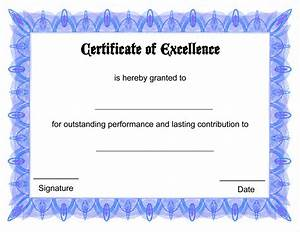 free online certificate template certificate templates With awards certificates templates free download
