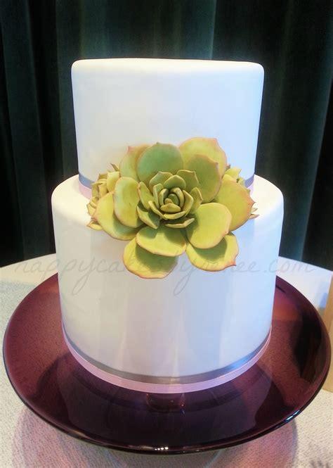 succulent bridal shower cake cakecentralcom