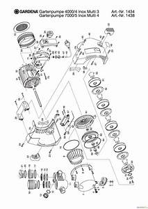 Gardena 4000 4 Bedienungsanleitung : gardena wassertechnik pumpen gartenpumpe 4000 4 inox multi ~ Lizthompson.info Haus und Dekorationen