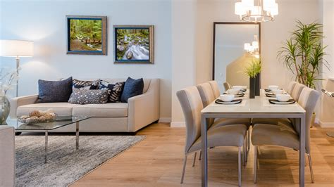 Living And Dining by How To Make An Open Concept Living And Dining Room Feel