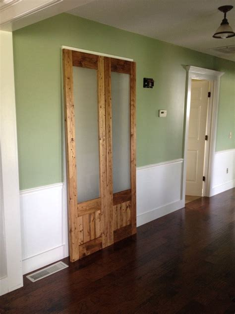 hometalk dress up the messsliding doors to laundry room