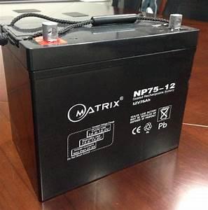 12v 75ah Gel 12 Volt Led Lights Battery