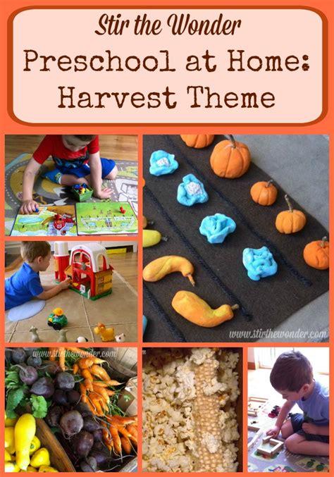 preschool at home harvest theme stir the 245 | Preschool at Home Harvest