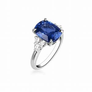 Blue sapphire ring engagement ring jewelry ring blue for Bague