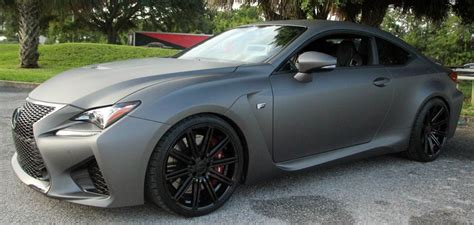 lexus rc f matte black matte grey custom 2015 lexus rc f at lexus ta bay