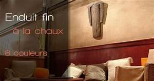 Enduit à La Chaux : enduit la chaux pour int rieur et ext rieur 18 teintes ~ Dailycaller-alerts.com Idées de Décoration